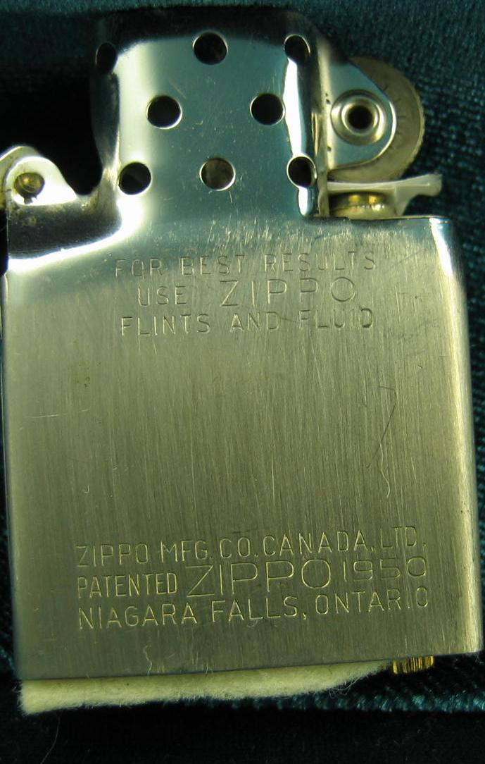 zippo dating insert While the information for dating a zippo is widely available, it isn't that handy to 1943 zippo can be determined by the insert as the 1943 ones had markings on.
